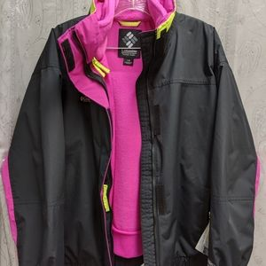 Vintage Columbia Winter Jacket and Fleece